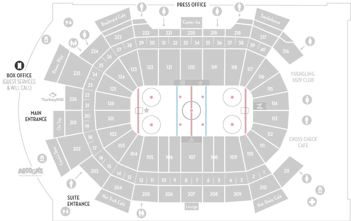 Seating Chart | Giant Center