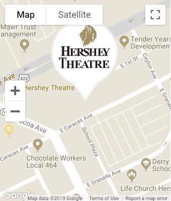 Venue Info | Hershey Theatre